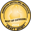 2014 Best in Category ADI Annual Spirits Contest
