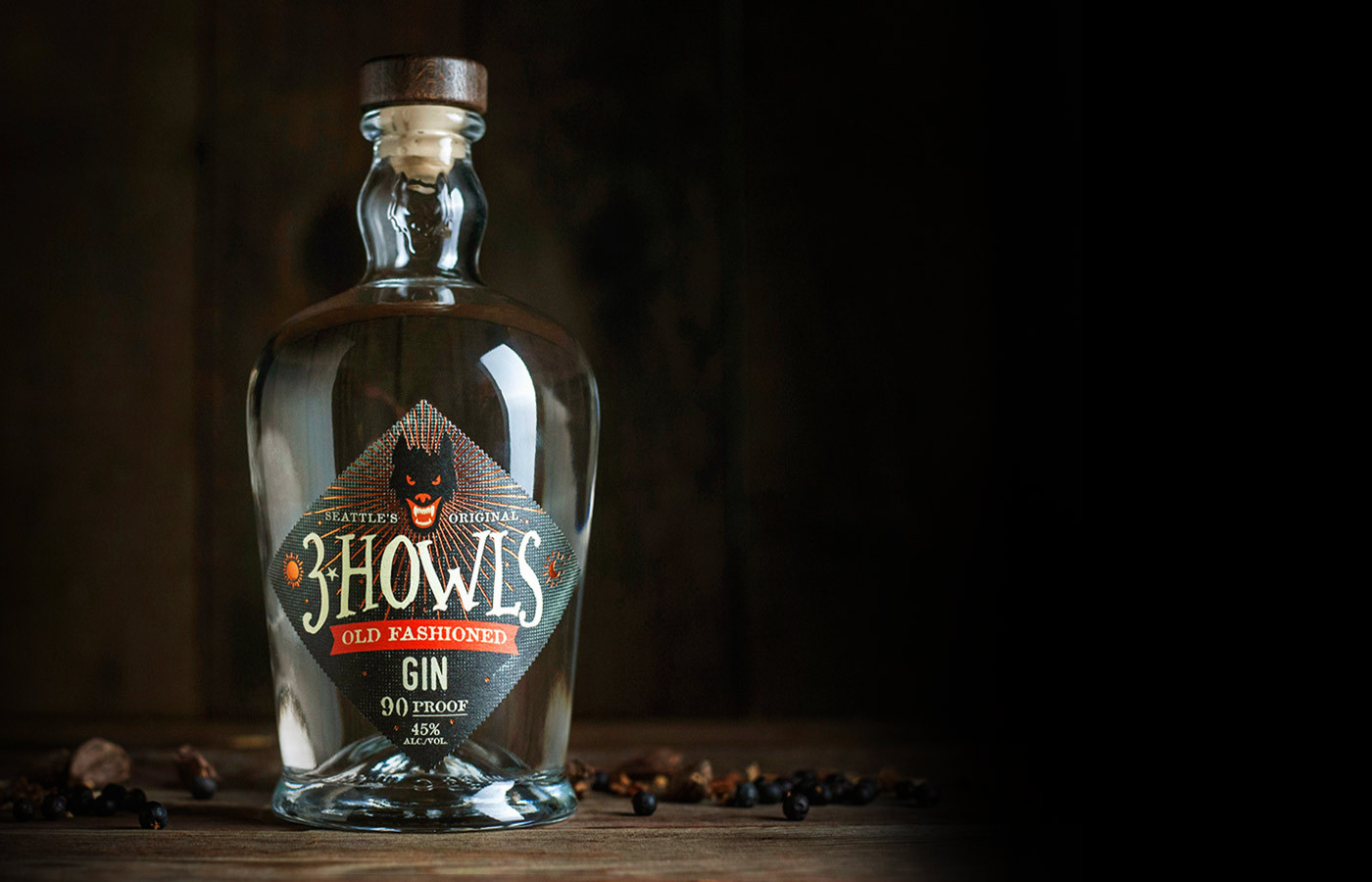 Classic Gin | 3 Howls Distillery, Handcrafted in Seattle